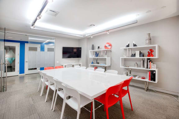 Office space fully furnished and equipped located at 530 7th Avenue, #The Square, New York City.