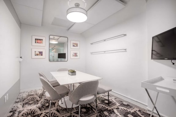 Office space fully furnished and equipped located at 530 7th Avenue, #The Nest, New York City.