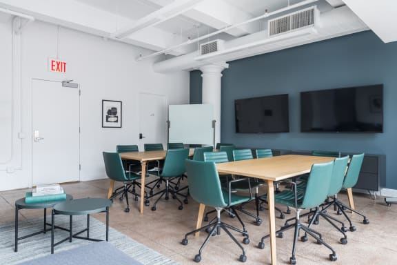 Workspace fully furnished and equipped located at 54 West 21st Street, #601, New York City.