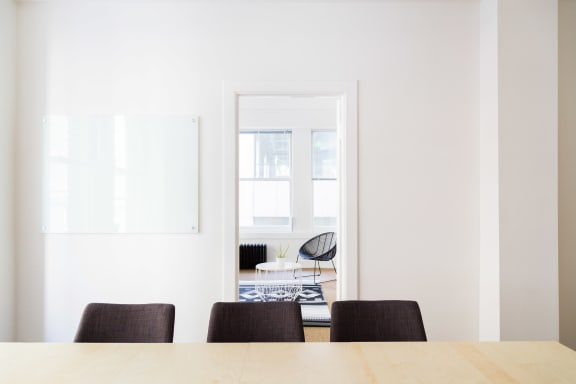 Office space fully furnished and equipped located at 55 New Montgomery St., #201, SOMA.