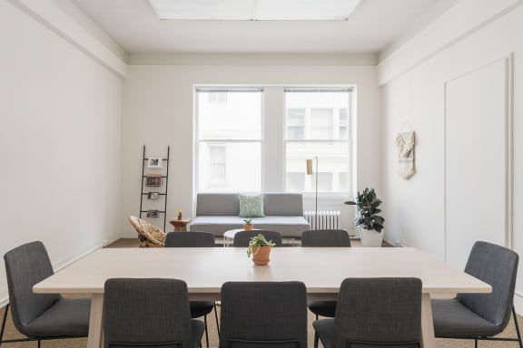 Office space fully furnished and equipped located at 55 New Montgomery St., #220, SOMA.
