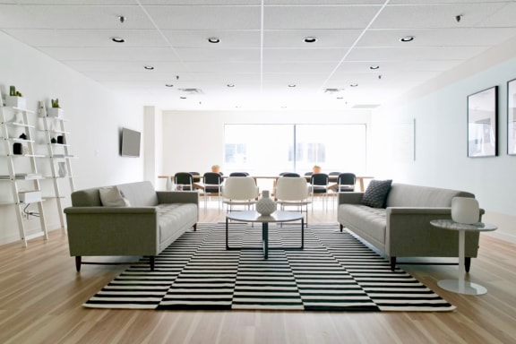 Workspace fully furnished and equipped located at 555 Richmond St. West, #411, Toronto.
