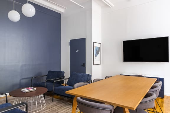 Workspace fully furnished and equipped located at 580 Broadway, #510, New York City.