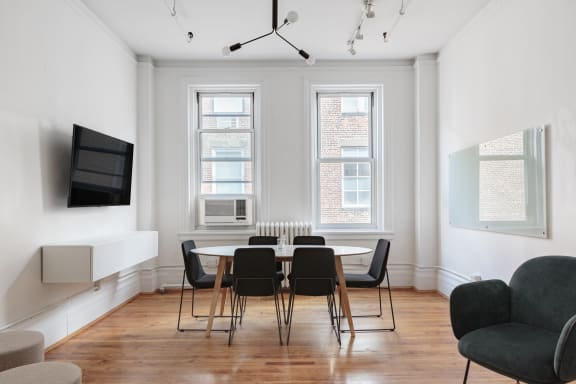 Workspace fully furnished and equipped located at 648 Broadway, #1003, New York City.