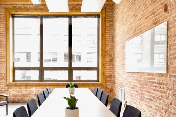 Workspace fully furnished and equipped located at 720 N. Franklin, #402-2, Chicago.