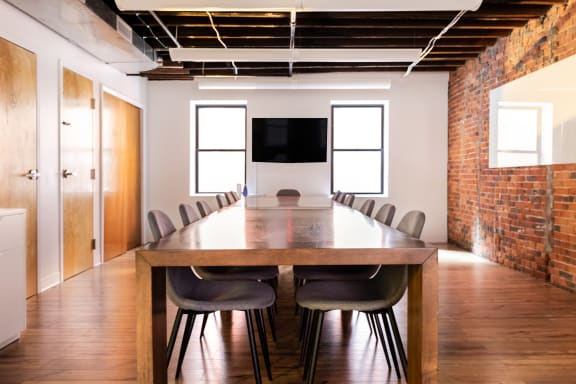 Workspace fully furnished and equipped located at 87 Wendell Street, #1, Boston.