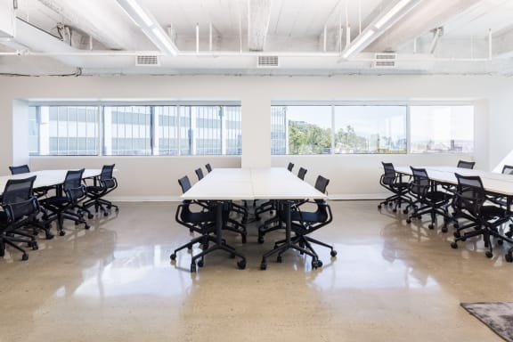 Office space fully furnished and equipped located at 9229 Sunset Blvd., #607, West Hollywood.