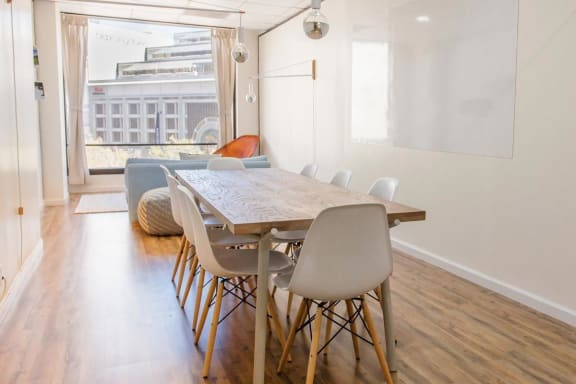 Office space fully furnished and equipped located at 1 Hallidie Plaza, #408, Mid-Market.