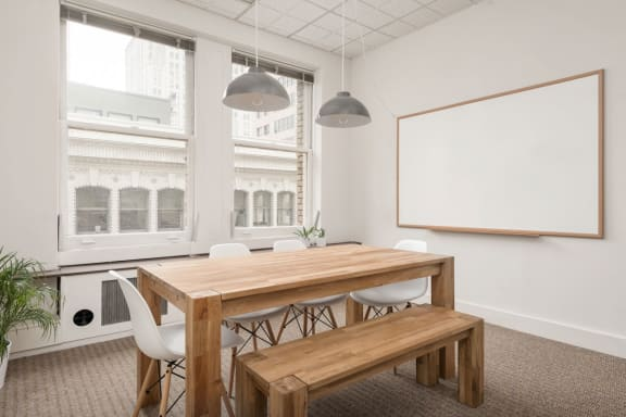Office space fully furnished and equipped located at 55 New Montgomery St., #511, South Beach.
