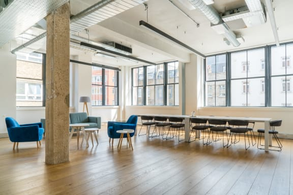 Office space fully furnished and equipped located at 80 Clerkenwell Road, Clerkenwell, #1, Clerkenwell.