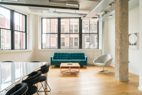Office space fully furnished and equipped located at 80 Clerkenwell Road, Clerkenwell, #2, Clerkenwell.