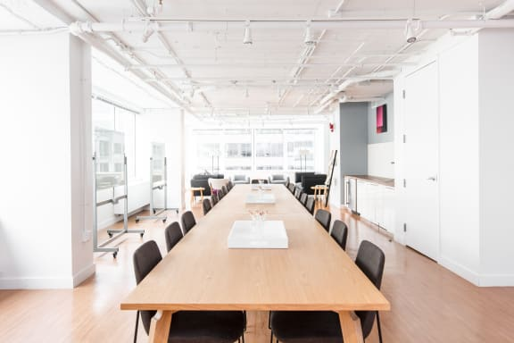 Workspace fully furnished and equipped located at 1901 Pennsylvania Ave. NW, #805-A, Washington DC.