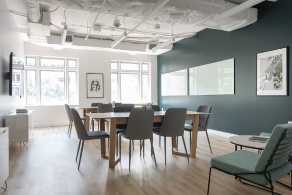 Workspace fully furnished and equipped located at 2401 Pennsylvania Ave. NW, #340-1, Washington DC.