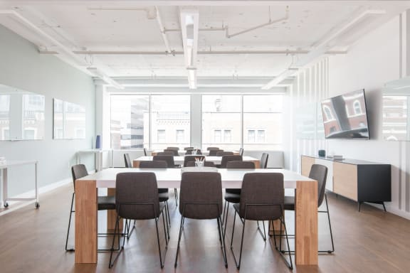 Workspace fully furnished and equipped located at 444 North Capitol Street NW, #730-C, Washington DC.