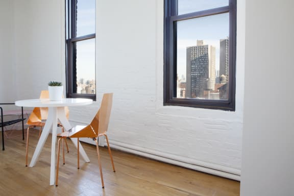 Office space fully furnished and equipped located at 110 Greene Street, #1111, Soho.