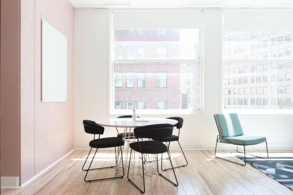 Workspace fully furnished and equipped located at 9 Kearny St., #1, SF Bay Area.