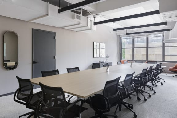 Workspace fully furnished and equipped located at 322 8th Ave, #3, New York City.