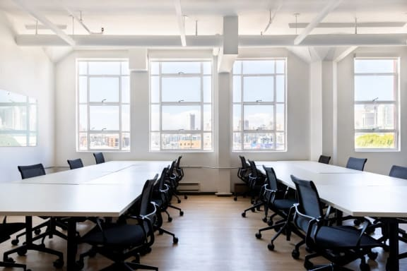 Office space fully furnished and equipped located at 36 West 25th Street, New York City.