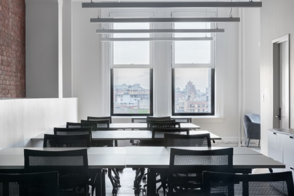 Office space fully furnished and equipped located at 636 Broadway, #704, New York City.