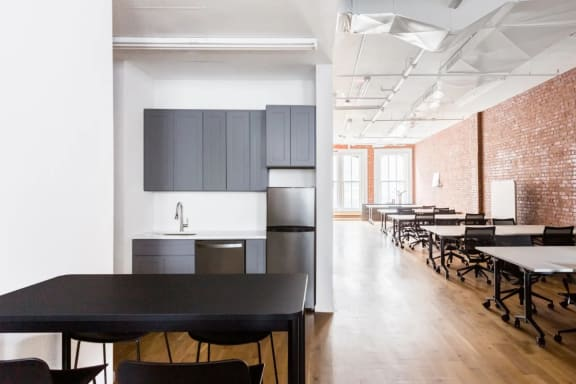 Office space fully furnished and equipped located at 734 Broadway, #400, New York City.