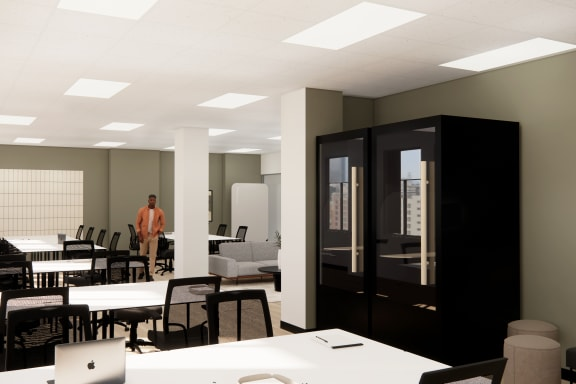 Office space fully furnished and equipped located at 311 California Street, #450, SF Bay Area.