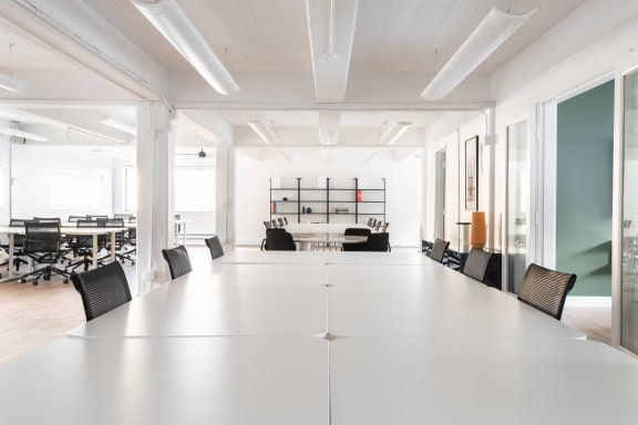 Office space fully furnished and equipped located at 329 Bryant St., #2C, SF Bay Area.