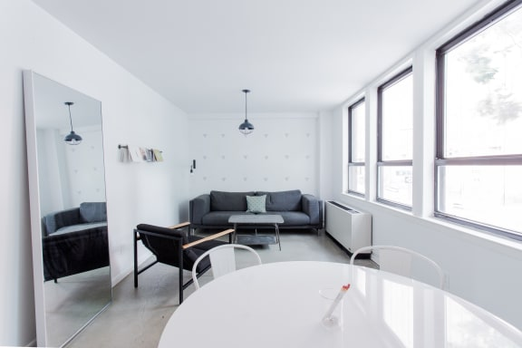 Office space fully furnished and equipped located at 64 West 3rd Street, #2, Soho.