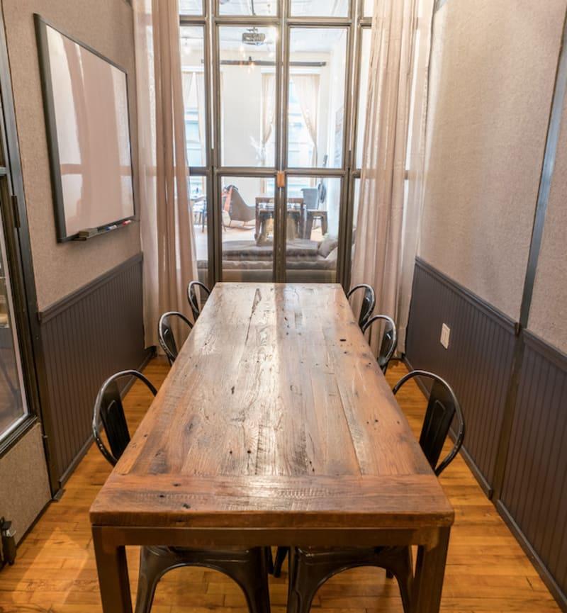 447 Broadway, 2nd Floor, Room Soho Meeting Room