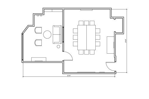 Floor-plan of 1 Hallidie Plaza, 3rd Floor, Suite 300