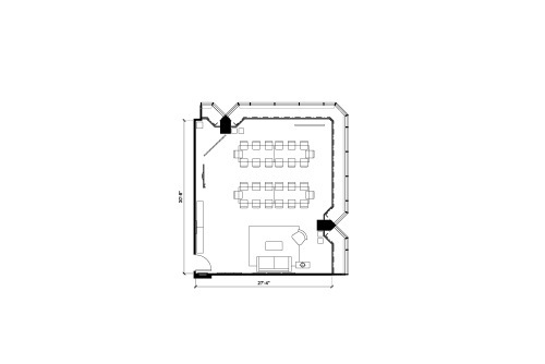 Floor-plan of 1 University Ave, 16th Floor, Suite 1602