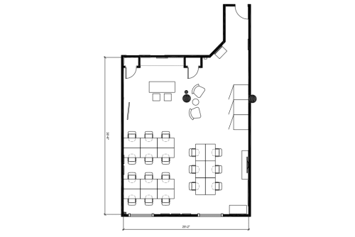 Floor-plan of 100 Crosby Street, 5th Floor, Suite 502
