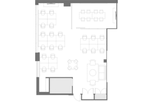Floor-plan of 100 Lombard St. East, 103 Richmond St. East, 2nd Floor, Suite 200
