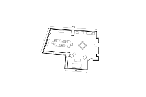 Floor-plan of 11 Beacon Street, 11th Floor, Suite 1110