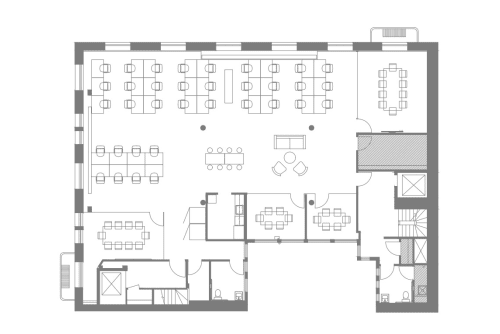 Floor-plan of Coming Soon: 111 New Montgomery St., 2nd Floor, Suite 200