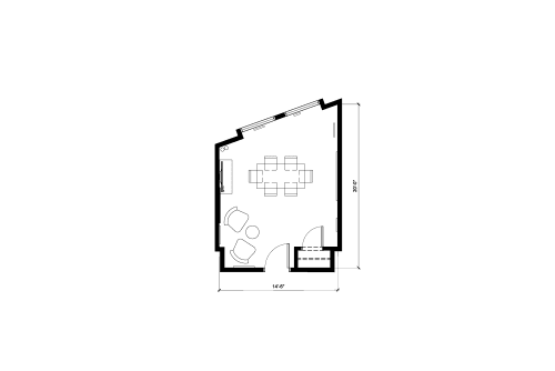 Floor-plan of 1123 Broadway, 3rd Floor, Suite 304
