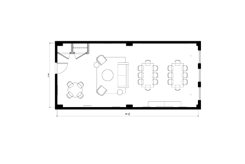 Floor-plan of 115-125 West 30th Street, 11th Floor, Suite 1101