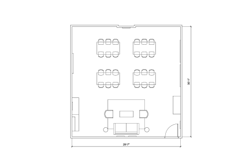 Floor-plan of 120 Adelaide St. West, 21st Floor, Suite 2120