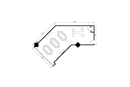Floor-plan of 123 Front St. West, 9th Floor, Suite 907