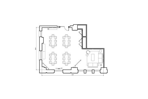 125 S. Clark, 6th Floor, Suite 675, Room 1 #9