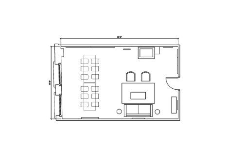 Floor-plan of 134 N. LaSalle, 17th Floor, Suite 1730