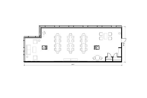 Floor-plan of 134 Peter St., 15th Floor, Suite 1503