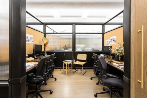 Office space located at 135 Madison Avenue, 8th Floor, Room Office #2 (4 people), #1