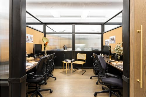 Office space located at 135 Madison Avenue, 8th Floor, Room Office #4 (3 people), #1
