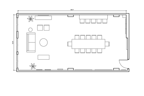 Floor-plan of 135 West 29th Street, 10th Floor, Suite 1005