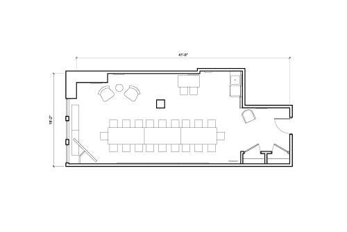 Floor-plan of 135 West 29th Street, 4th Floor, Suite 401