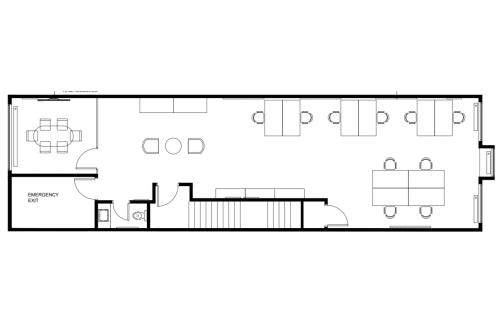 Floor-plan of 1357 Avenue Greene, 3rd Floor, Suite 300