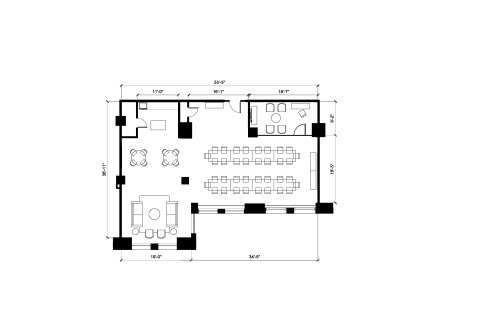Floor-plan of 1450 Broadway, 6th Floor, Suite 601