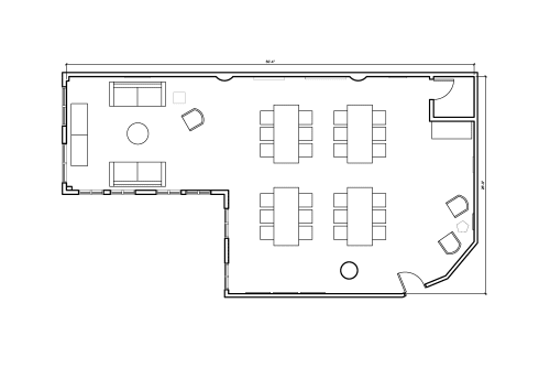 Floor-plan of 153 West 27th Street, 6th Floor, Suite 604