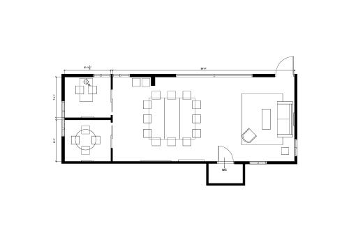 Floor-plan of 1639 11th St., Suite 152