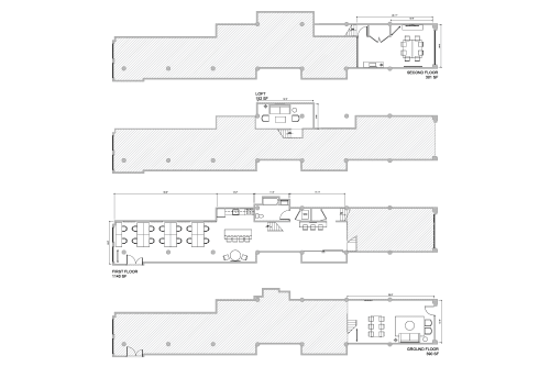 Floor-plan of 164 Townsend St., Suite 2
